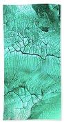 Ultramarine Bath Towel by Valerie Anne Kelly