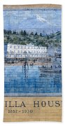 Umatilla House 1857 - 1930 Bath Towel
