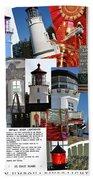Umpqua River Lighthouse Collection Bath Towel
