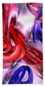 Unchained Abstract Bath Towel