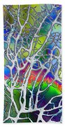Under The Sea Abstract Bath Towel