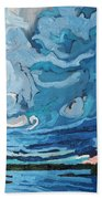 Under The Storm Hand Towel