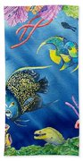 Undersea Garden Bath Towel