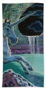Unicorn Lake Bath Towel