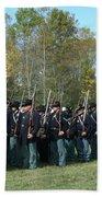 Union Infantry March Bath Towel