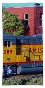 Union Pacific 289 Bath Towel