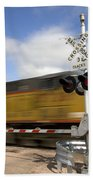 Union Pacific Coal Train Bath Towel