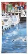 Union Wharf Bath Towel