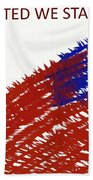 United We Stand Bath Towel