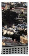 University Of San Francisco Aerial Photo Hand Towel