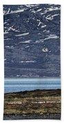 Unjarga-nesseby Church In Arctic Norway Bath Towel