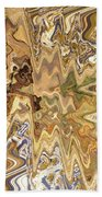 Unknown Paths Abstract Art Bath Towel