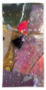 Untitled Abstract Prism Plates II Bath Towel