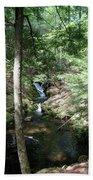 Upper Adler Falls 4405 Bath Towel