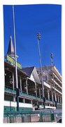 Upper Level Viewing Stands At Churchill Downs Bath Towel