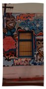 Urban Art Bath Towel