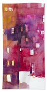 Urban Landscape 3 Bath Towel