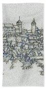uremberg Sketching Bath Towel