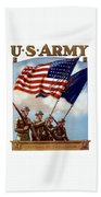 Us Army -- Guardian Of The Colors Hand Towel