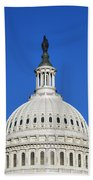 Us Capitol Building Dome Bath Towel