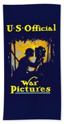 U.s. Official War Pictures Bath Towel
