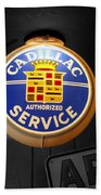Us Route 66 Cadillac Service Globe Sc Bath Towel