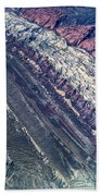 Utah Mountains High Altitiude Aerial Photo Bath Towel