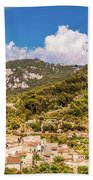 Valldemossa View From The Town Bath Towel