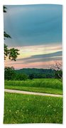 Valley Forge Sunset Bath Towel