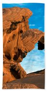 Valley Of Fire State Park Arch Rock Bath Towel