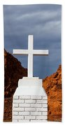 Valley Of Fire State Park Clark Memorial Bath Towel