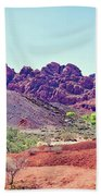 Valley Of Fire State Park, Nevada Bath Towel