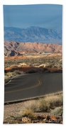Valley Of Fire State Park Rainbow Vista Bath Towel