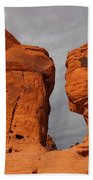 Valley Of Fire State Park Seven Sisters Bath Towel