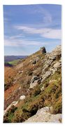 Valley Of The Rocks Bath Towel