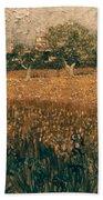 Van Gogh: Arles, 1888 Bath Towel