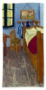 Van Gogh: Bedroom, 1889 Bath Towel