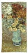 Van Gogh: Flowers, 1887 Hand Towel