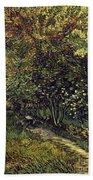 Van Gogh: Hospital, 1889 Bath Towel