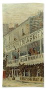 Van Gogh: La Sirene, 1887 Bath Towel