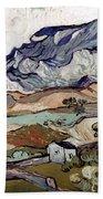 Van Gogh: Landscape, 1890 Hand Towel