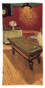 Van Gogh Night Cafe 1888 Bath Towel