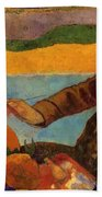Van Gogh Painting Sunflowers 1888 Bath Towel