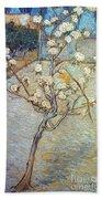 Van Gogh: Peartree, 1888 Bath Towel