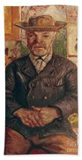 Van Gogh: Pere Tanguy, 1887 Bath Towel