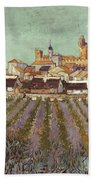 Van Gogh: Saintes-maries Bath Towel