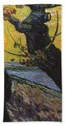 Van Gogh: Sower, 1888 Bath Towel