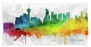 Vancouver Skyline Mmr-cabcva05 Hand Towel