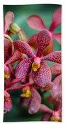 Vanda Orchids Bath Towel
