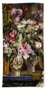 Vase Of Flowers, 1871  Bath Towel
